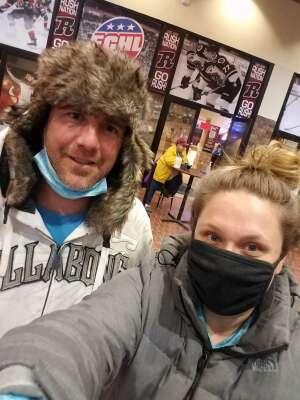 Timothy  attended Rapid City Rush vs. Tulsa Oilers - ECHL on Feb 12th 2021 via VetTix