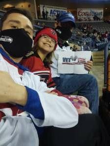 Erik attended Rapid City Rush vs. Tulsa Oilers - ECHL on Feb 12th 2021 via VetTix