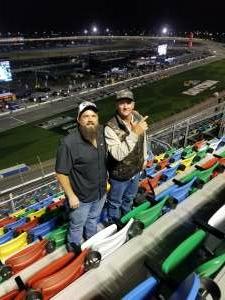 Cory attended Busch Clash at Daytona - NASCAR on Feb 9th 2021 via VetTix