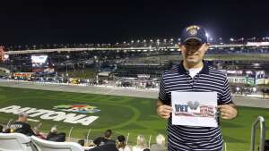 Victor  attended Busch Clash at Daytona - NASCAR on Feb 9th 2021 via VetTix