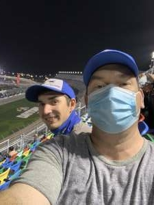 Eric Kennedy attended Busch Clash at Daytona - NASCAR on Feb 9th 2021 via VetTix
