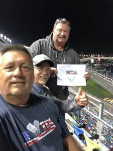 Mark attended Busch Clash at Daytona - NASCAR on Feb 9th 2021 via VetTix