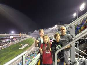 Bill Hammac attended Busch Clash at Daytona - NASCAR on Feb 9th 2021 via VetTix