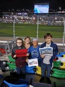 Dustin Brock attended Nextera Energy 250 - NASCAR Camping World Truck Series on Feb 12th 2021 via VetTix