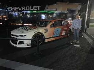 Kari attended Nextera Energy 250 - NASCAR Camping World Truck Series on Feb 12th 2021 via VetTix