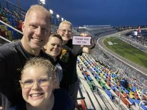 Jason Fletcher attended Nextera Energy 250 - NASCAR Camping World Truck Series on Feb 12th 2021 via VetTix