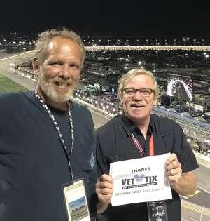 Leo  attended Nextera Energy 250 - NASCAR Camping World Truck Series on Feb 12th 2021 via VetTix