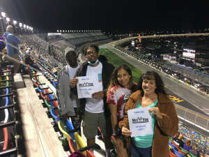 McCall Family attended Nextera Energy 250 - NASCAR Camping World Truck Series on Feb 12th 2021 via VetTix