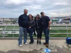 Tanya M. attended Nextera Energy 250 - NASCAR Camping World Truck Series on Feb 12th 2021 via VetTix
