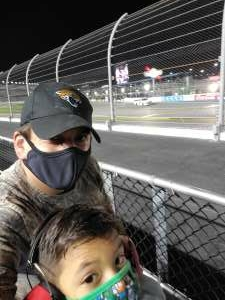 Nicolas B. Baena attended Nextera Energy 250 - NASCAR Camping World Truck Series on Feb 12th 2021 via VetTix