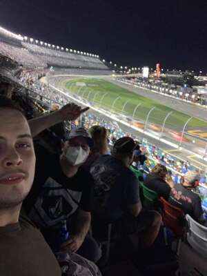 Ryan M. attended Beef It's Whats for Dinner 300 - NASCAR Xfinity Series on Feb 13th 2021 via VetTix