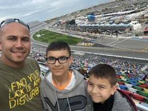 Chris attended Beef It's Whats for Dinner 300 - NASCAR Xfinity Series on Feb 13th 2021 via VetTix