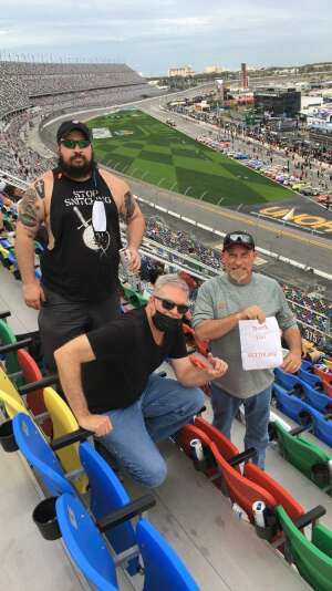 Walter Adams attended Beef It's Whats for Dinner 300 - NASCAR Xfinity Series on Feb 13th 2021 via VetTix