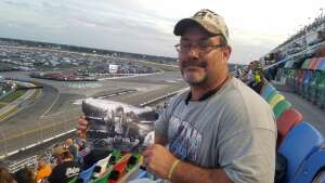 David L attended Beef It's Whats for Dinner 300 - NASCAR Xfinity Series on Feb 13th 2021 via VetTix
