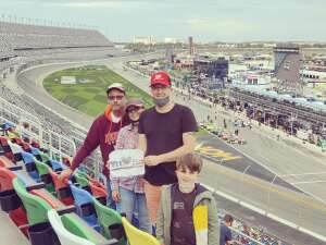 Aaron R attended Beef It's Whats for Dinner 300 - NASCAR Xfinity Series on Feb 13th 2021 via VetTix
