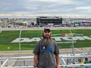Ben attended Beef It's Whats for Dinner 300 - NASCAR Xfinity Series on Feb 13th 2021 via VetTix