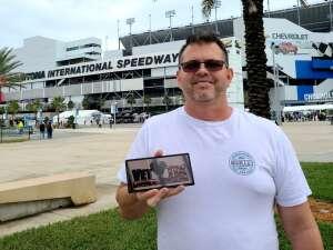 Jon S.  attended Beef It's Whats for Dinner 300 - NASCAR Xfinity Series on Feb 13th 2021 via VetTix