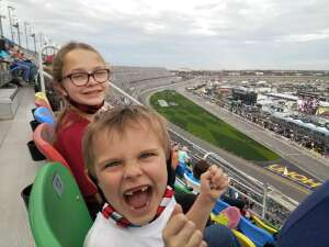 Brian F. attended Beef It's Whats for Dinner 300 - NASCAR Xfinity Series on Feb 13th 2021 via VetTix