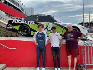 CT attended Beef It's Whats for Dinner 300 - NASCAR Xfinity Series on Feb 13th 2021 via VetTix