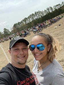 David Jensen attended Camp Coker Bullet GNCC Racing on Mar 27th 2021 via VetTix