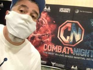 Chris attended Combat Night Pro Orlando - Live Mixed Martial Arts Action! on Mar 13th 2021 via VetTix