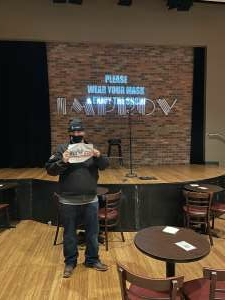 Jld2725 attended A Night at the Improv with Andy Huggins on Feb 11th 2021 via VetTix
