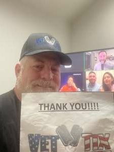 David attended The Laugh Tour: Virtual Stand Up Comedy Via Zoom on Mar 20th 2021 via VetTix