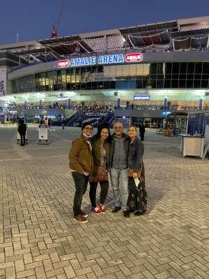 Eddie Velez USMC attended Tobymac Hits Deep Tour on Feb 20th 2021 via VetTix