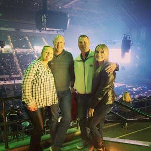 Pamela Bruckner  attended Tobymac Hits Deep Tour on Feb 18th 2021 via VetTix