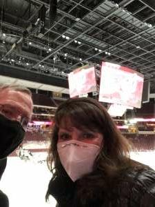 C Snow attended Arizona Coyotes vs. Los Angeles Kings on Feb 18th 2021 via VetTix