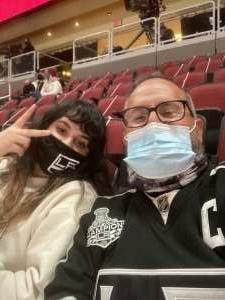 Frank Ramirez attended Arizona Coyotes vs. Los Angeles Kings on Feb 18th 2021 via VetTix