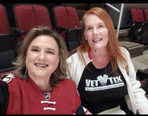 Edie attended Arizona Coyotes vs. Los Angeles Kings on Feb 18th 2021 via VetTix