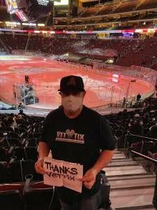 Shawn attended Arizona Coyotes vs. Los Angeles Kings on Feb 18th 2021 via VetTix
