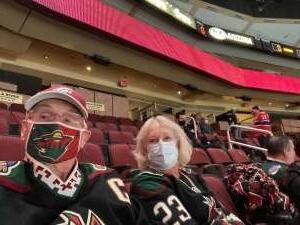 JHERNE  attended Arizona Coyotes vs. Los Angeles Kings on Feb 18th 2021 via VetTix