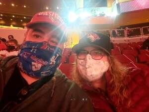MEL LO attended Arizona Coyotes vs. Anaheim Ducks on Feb 22nd 2021 via VetTix