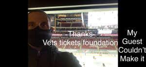 Guillermo Betancourt attended Arizona Coyotes vs. Anaheim Ducks on Feb 22nd 2021 via VetTix