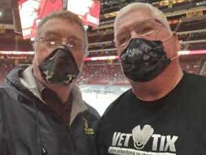 Gary attended Arizona Coyotes vs. Anaheim Ducks on Feb 22nd 2021 via VetTix