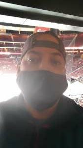 Aaron K attended Arizona Coyotes vs. Anaheim Ducks on Feb 22nd 2021 via VetTix