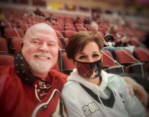 Ken attended Arizona Coyotes vs. Anaheim Ducks on Feb 22nd 2021 via VetTix
