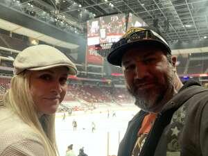 Raul attended Arizona Coyotes vs. Anaheim Ducks on Feb 22nd 2021 via VetTix