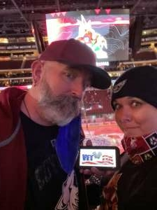 Bob N.  attended Arizona Coyotes vs. Anaheim Ducks on Feb 24th 2021 via VetTix