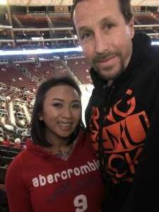 Jeremiah attended Arizona Coyotes vs. Anaheim Ducks on Feb 24th 2021 via VetTix
