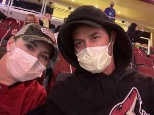 Chris attended Arizona Coyotes vs. Anaheim Ducks on Feb 24th 2021 via VetTix