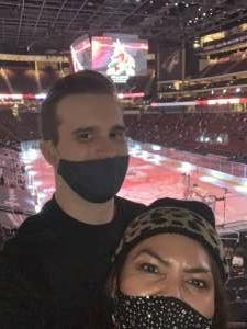 Janice attended Arizona Coyotes vs. Anaheim Ducks on Feb 24th 2021 via VetTix