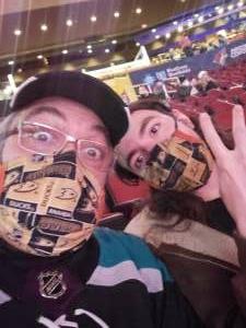 Scott attended Arizona Coyotes vs. Anaheim Ducks on Feb 24th 2021 via VetTix