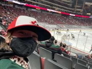 Juck attended Arizona Coyotes vs. Anaheim Ducks on Feb 24th 2021 via VetTix