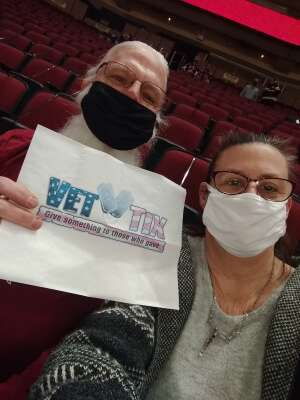 Bill attended Arizona Coyotes vs. Anaheim Ducks on Feb 24th 2021 via VetTix