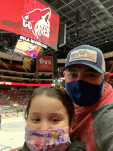 Jtomm attended Arizona Coyotes vs. Anaheim Ducks on Feb 24th 2021 via VetTix