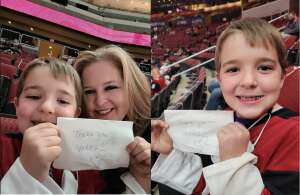 Rick W. attended Arizona Coyotes vs. Anaheim Ducks on Feb 24th 2021 via VetTix