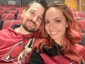 Jon-Paul  Cassidy attended Arizona Coyotes vs. Anaheim Ducks on Feb 24th 2021 via VetTix